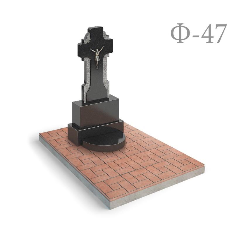 Памятник Крест с голгофой Ф47