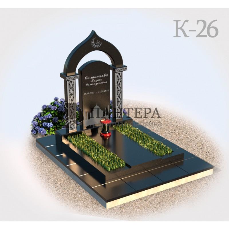 Мемориальный комплекс из гранита с Аркой К26