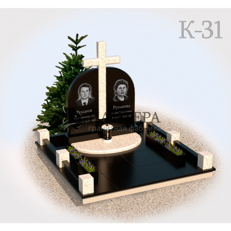 Мемориальный комплекс с Крестом К31