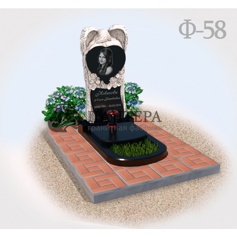 Памятник Ангел на могилу Ф58