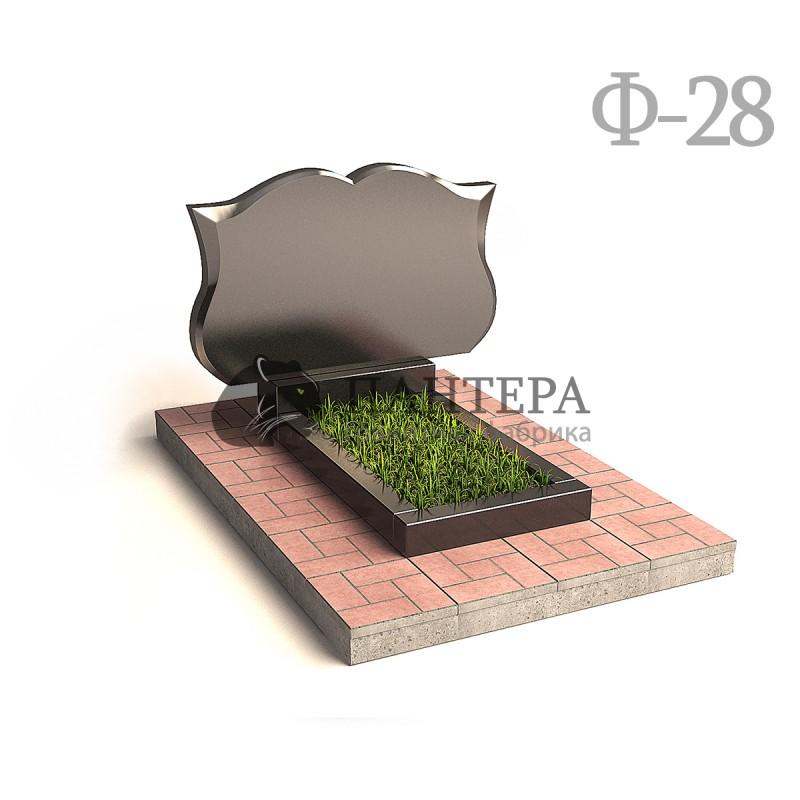 Памятник горизонтальный Книга Ф28