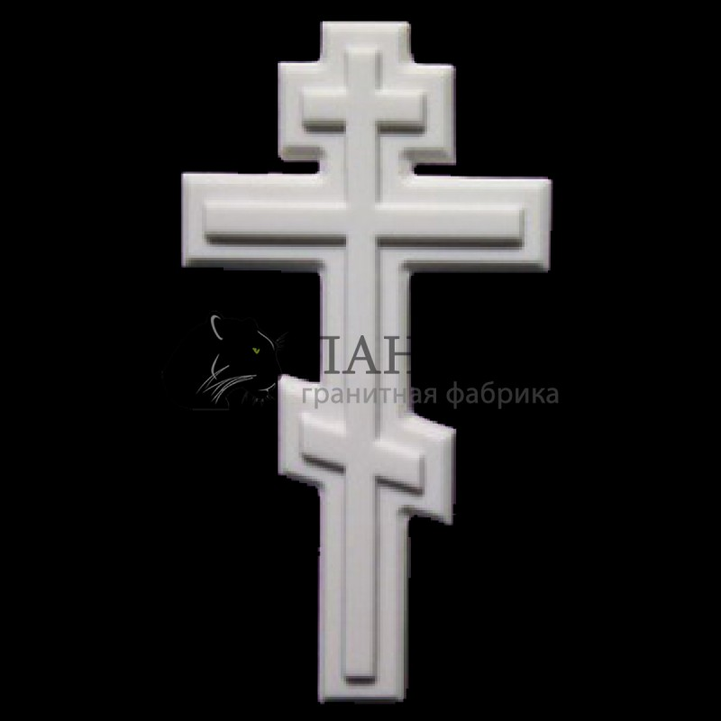Мраморный крестик 16/25 см. M-3