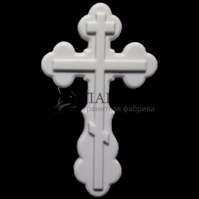 Мраморный крестик 16/25 см. M-4