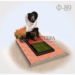 Памятник с голубем на могилу Ф89