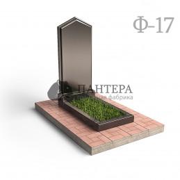 """Эконом памятник """"Башня с профильной резкой"""". Ф-17"""