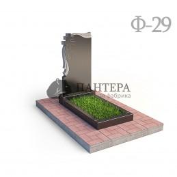 Памятник с крестом восьмиконечным Ф29