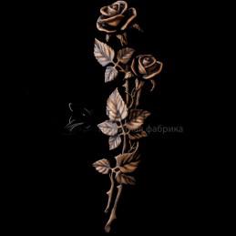 Мраморные розы 59 см. M-2