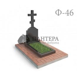 Памятник с Крестом и голгофой Ф46