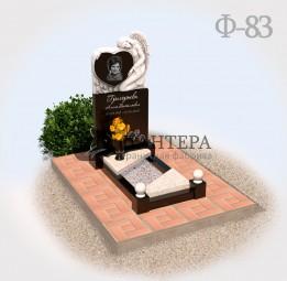 Памятник с Ангелом на могилу Ф83