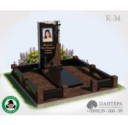 Мемориальный комплекс с Крестом и вазой К34