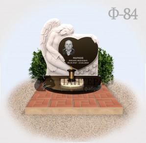 Памятник Ангел с сердцем Ф84