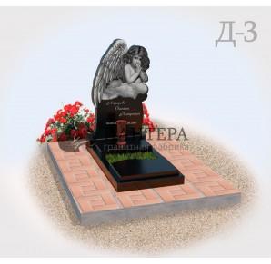 Памятник Детский Ангел Д3