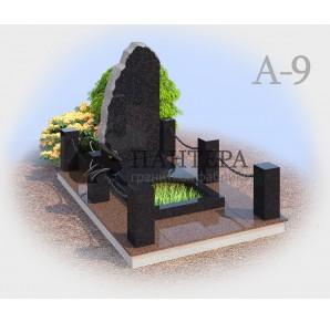 Авторский комплекс из одного или двух видов гранитов. А-9