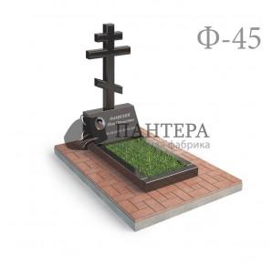 Памятник Крест с постаментом Ф45