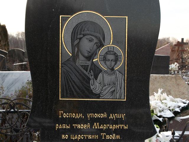богородица на памятниках